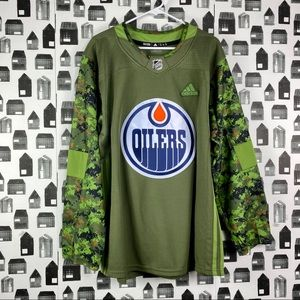 Adidas | Oilers Camouflage Authentic Jersey